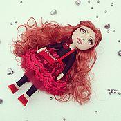 Куклы и игрушки ручной работы. Ярмарка Мастеров - ручная работа Кареглазая вишенка. Handmade.