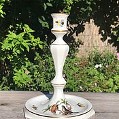 Винтаж handmade. Livemaster - original item Herend candle holder, porcelain, handmade, Hungary. Handmade.