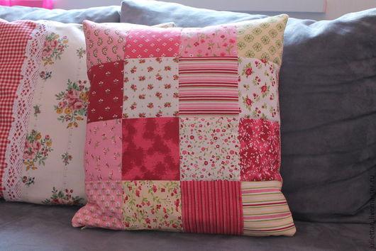 Текстиль, ковры ручной работы. Ярмарка Мастеров - ручная работа. Купить декоративная наволочка '' розовый сад''. Handmade. Фуксия