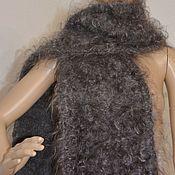 Аксессуары handmade. Livemaster - original item Downy knit scarf
