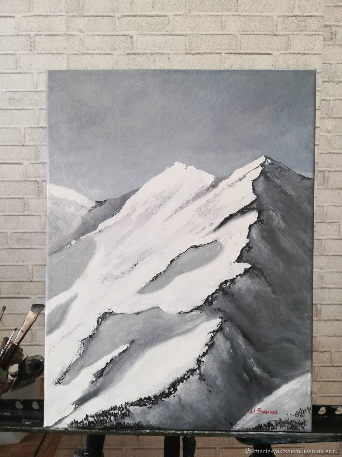 Paintings: mountains, Pictures, Moscow,  Фото №1