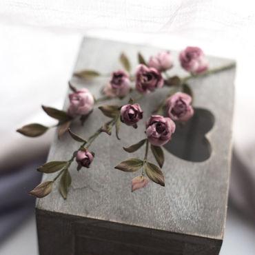 Свадебный салон ручной работы. Ярмарка Мастеров - ручная работа Шелковые розочки. Handmade.