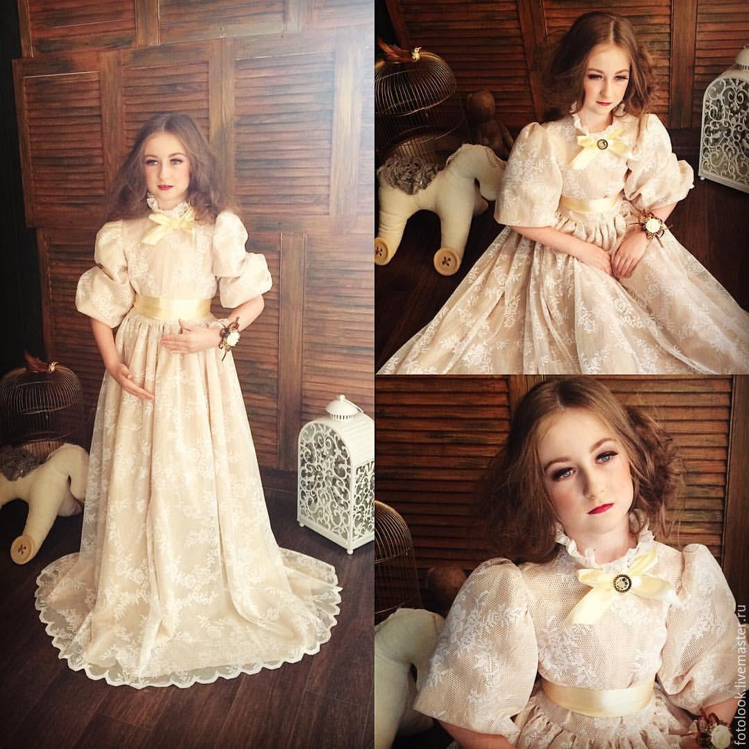 Платье для фотосессии детское