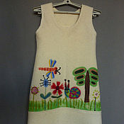 """Одежда ручной работы. Ярмарка Мастеров - ручная работа детский сарафан   """" Ходите в гости по утрам"""". Handmade."""