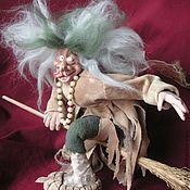 """Куклы и игрушки ручной работы. Ярмарка Мастеров - ручная работа Баба-Яга  """"Возвращение с девичника"""". Handmade."""