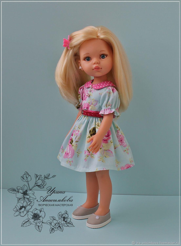 """Платье для Паолы """" Цветочное"""", Одежда для кукол, Краснотурьинск,  Фото №1"""