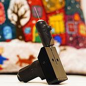 Инструменты для валяния ручной работы. Ярмарка Мастеров - ручная работа Фильцевальная машинка для сухого валяния шерсти. Handmade.