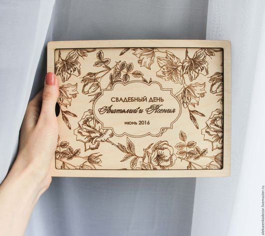 Свадебные фотоальбомы ручной работы. Ярмарка Мастеров - ручная работа. Купить Коробка для хранения фотографий. Handmade. Коричневый, коробка для мелочей