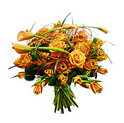 Цветы и флористика handmade. Livemaster - original item Designer bouquet the Joy of meeting. Handmade.