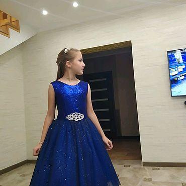 Одежда ручной работы. Ярмарка Мастеров - ручная работа Нарядное платье для девочки. Handmade.