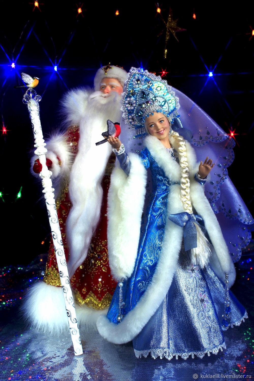 Дед мороз и снегурочка своими руками фото 685