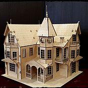Кукольные домики ручной работы. Ярмарка Мастеров - ручная работа Кукольные домики: игровой дом. Handmade.