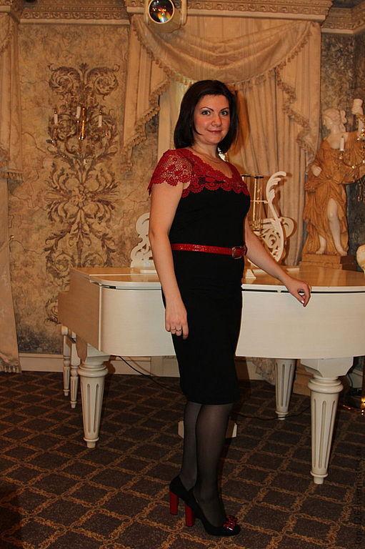 """Платья ручной работы. Ярмарка Мастеров - ручная работа. Купить Платье """"Роза красная"""". Handmade. Винный цвет, платье вечернее"""