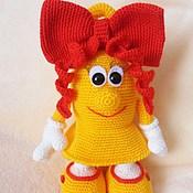 Куклы и игрушки handmade. Livemaster - original item A school bell.Knitted toy.. Handmade.