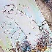 Картины и панно ручной работы. Ярмарка Мастеров - ручная работа И солнце брызнет счастьем сквозь ресницы. Handmade.