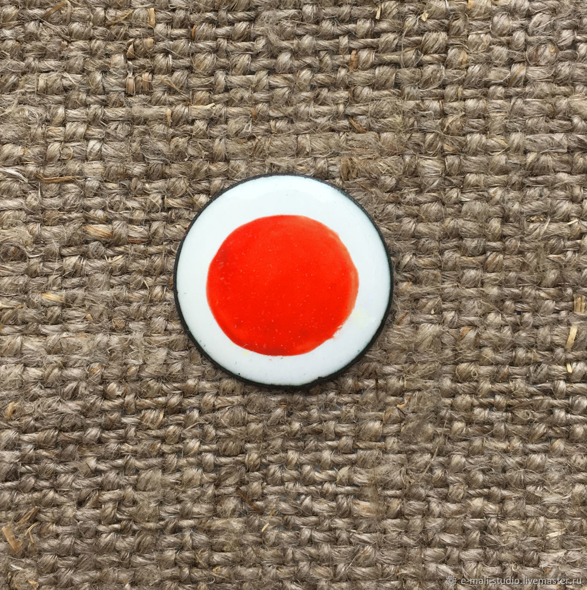 Overglaze paint Dulevo No. №5618 red, Blanks for jewelry, St. Petersburg,  Фото №1