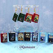 Украшения handmade. Livemaster - original item Pendant, earrings, pendant, keychain, souvenir Book. Handmade.