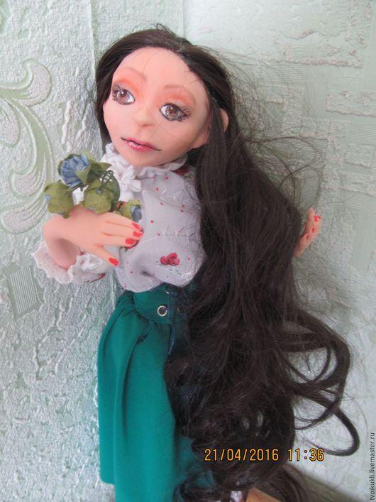 Коллекционные куклы ручной работы. Ярмарка Мастеров - ручная работа. Купить Будуарная кукла Юлия. Handmade. Кукла, морская волна