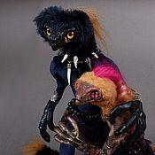 Куклы и игрушки ручной работы. Ярмарка Мастеров - ручная работа Звероящеры Ройбуш и Зверобой. Handmade.