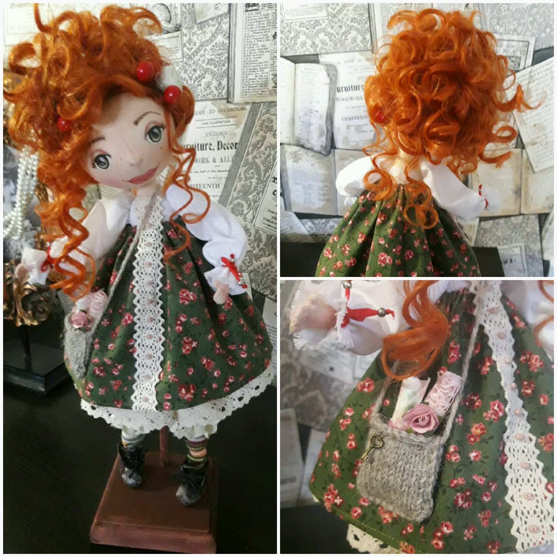 Куклы интерьерные из ткани фото