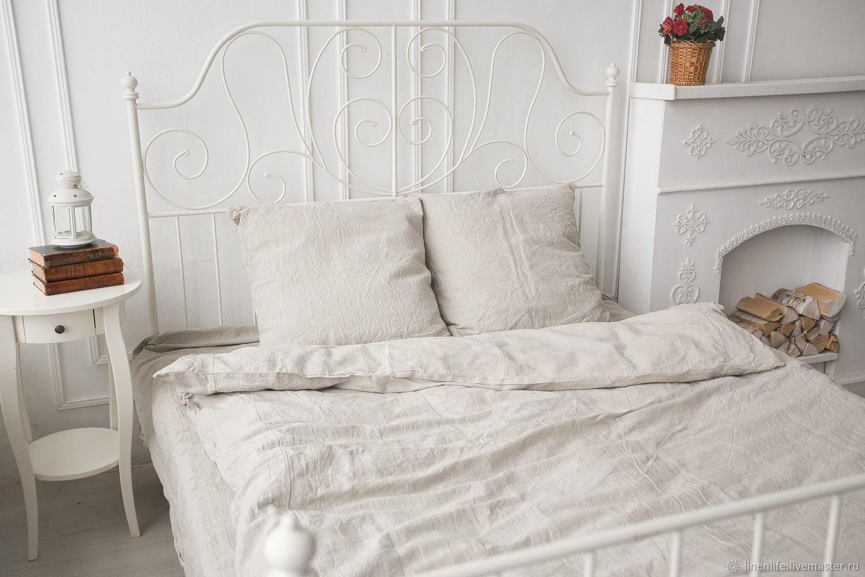 """Для дома и интерьера ручной работы. Ярмарка Мастеров - ручная работа. Купить Льняное постельное белье """"Лофт""""- Комплект постельного белья-КПБ. Handmade."""