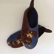 Обувь ручной работы handmade. Livemaster - original item Slippers