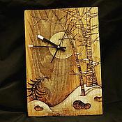Для дома и интерьера ручной работы. Ярмарка Мастеров - ручная работа Часы из дубовой доски.. Handmade.