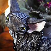 Для дома и интерьера handmade. Livemaster - original item Boothe. Cat Devon Rex.. Handmade.
