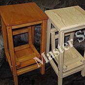 Для дома и интерьера ручной работы. Ярмарка Мастеров - ручная работа Барный стул-стремянка. Handmade.