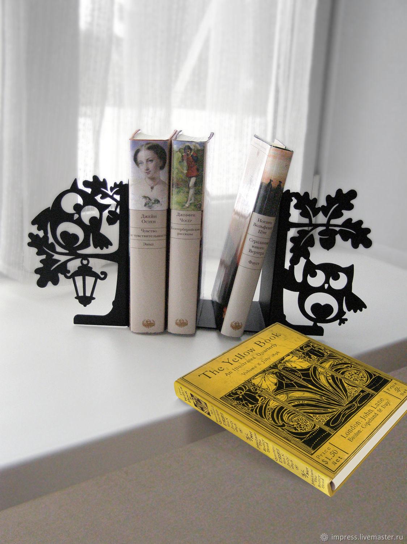 Упоры для книг Умные совы, Журнальницы, Тверь, Фото №1