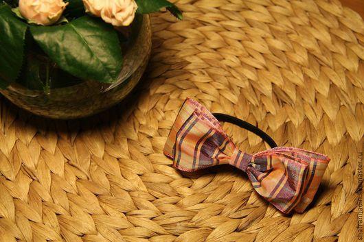 """Заколки ручной работы. Ярмарка Мастеров - ручная работа. Купить Резинка """"Alba""""для волос. Handmade. Разноцветный, травяной, бордовый цвет"""