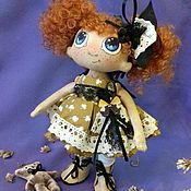 Куклы и игрушки ручной работы. Ярмарка Мастеров - ручная работа Кукла текстильная Мариша. Handmade.