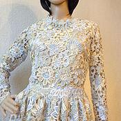 """Одежда ручной работы. Ярмарка Мастеров - ручная работа Кружевное нарядное платье """"Белые ночи"""". Handmade."""
