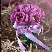 """Косметика ручной работы. Ярмарка Мастеров - ручная работа Сувенирное мыло """"Букет цветов"""". Handmade."""