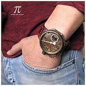 Украшения handmade. Livemaster - original item Mechanical watches Petroglif EU Steam-Gauge. Handmade.