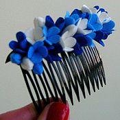 Украшения ручной работы. Ярмарка Мастеров - ручная работа Гребешок для волос. Handmade.