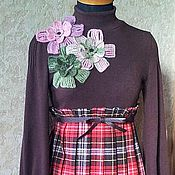 """Одежда ручной работы. Ярмарка Мастеров - ручная работа платье- """" ЦВЕТОК"""". Handmade."""