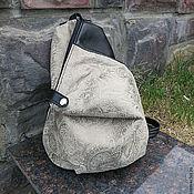 Сумки и аксессуары ручной работы. Ярмарка Мастеров - ручная работа Кожаный рюкзачок для Ольги. Handmade.