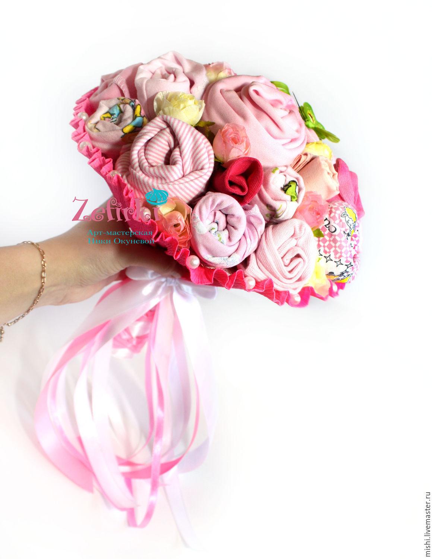 Детский букет для девочки своими руками