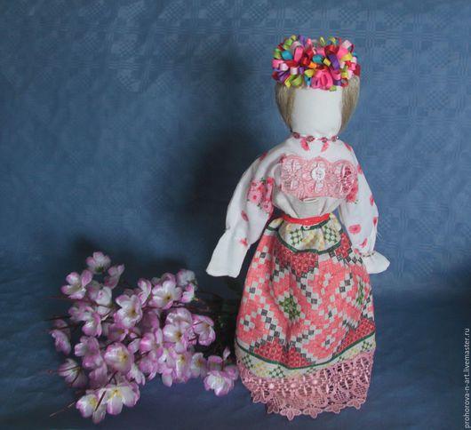 """Народные куклы ручной работы. Ярмарка Мастеров - ручная работа. Купить Кукла-оберег """"Лада"""". Handmade. Комбинированный, кукла интерьерная"""