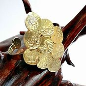 Украшения ручной работы. Ярмарка Мастеров - ручная работа Браслет из старинных монет. Handmade.