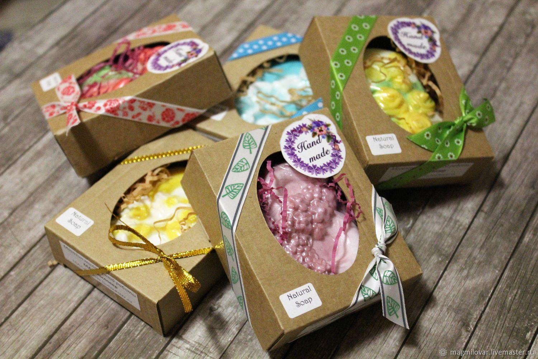 Подарочная упаковка для мыла Коробочка, Упаковка, Долгопрудный, Фото №1