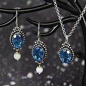 Украшения handmade. Livemaster - original item Set of earrings and pendant