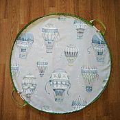Текстиль ручной работы. Ярмарка Мастеров - ручная работа Коврик мешок для игрушек. Handmade.