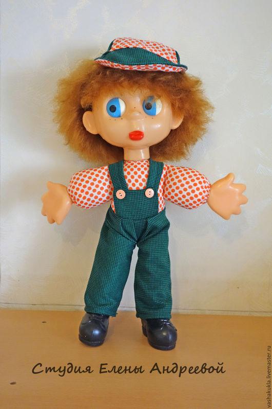 Реставрация. Ярмарка Мастеров - ручная работа. Купить Кукла Антошка, ф-ка Кругозор. Реставрация. Handmade. Комбинированный, фабрика кругозор