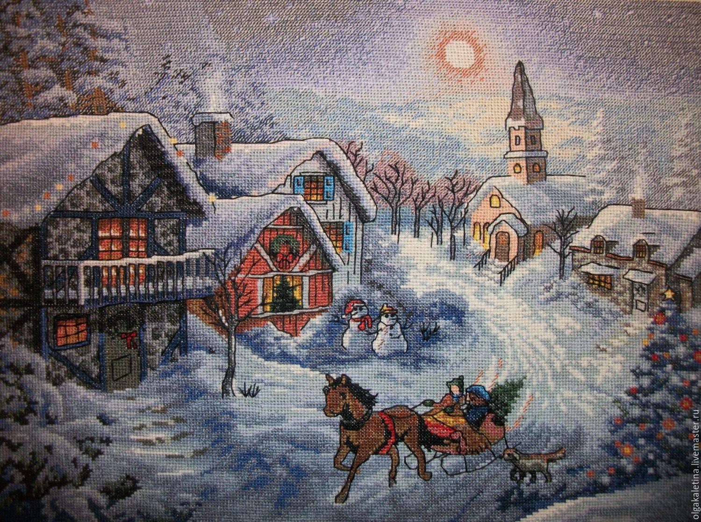 Рождество вышивка 38