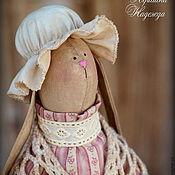 Куклы и игрушки ручной работы. Ярмарка Мастеров - ручная работа Зая Моника. Винтажная Чердачная Кофейная Ароматизированная Игрушка. Handmade.