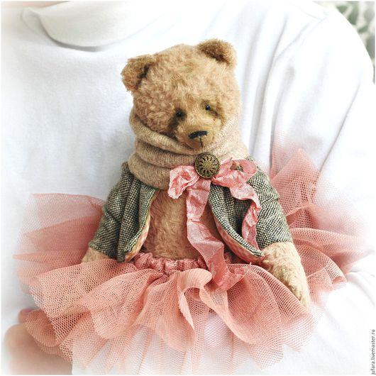Мишки Тедди ручной работы. Ярмарка Мастеров - ручная работа. Купить Merion. Handmade. Розовый, светло-серый, шебби, романтика