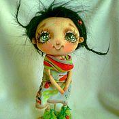 """Куклы и пупсы ручной работы. Ярмарка Мастеров - ручная работа """"Глазки зеленые- отзвук лета"""". Handmade."""