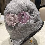 Аксессуары handmade. Livemaster - original item Hat with embroidered